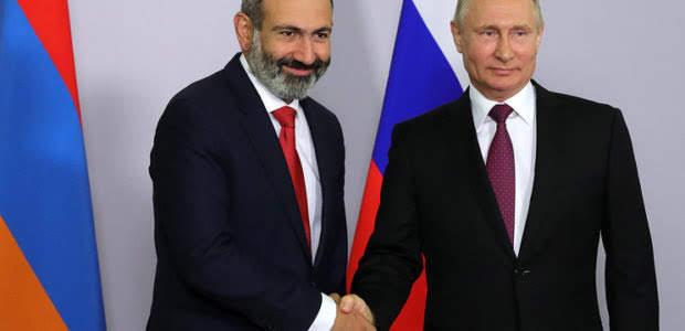 Pashinyan y Putin se reunirán nuevamente el 8 de septiembre