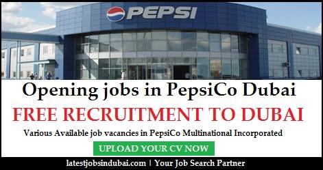 PepsiCo jobs in Dubai