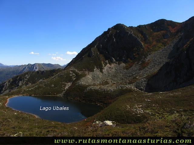 Ruta de los Arrudos y Corteguerón: Vista del Lago Ubales