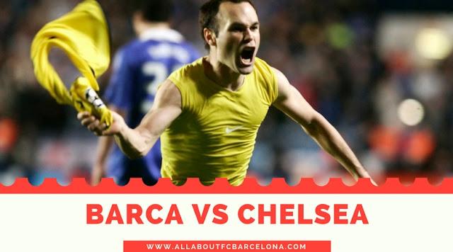 FC barcelona vs Chelsea at stamford Bridge