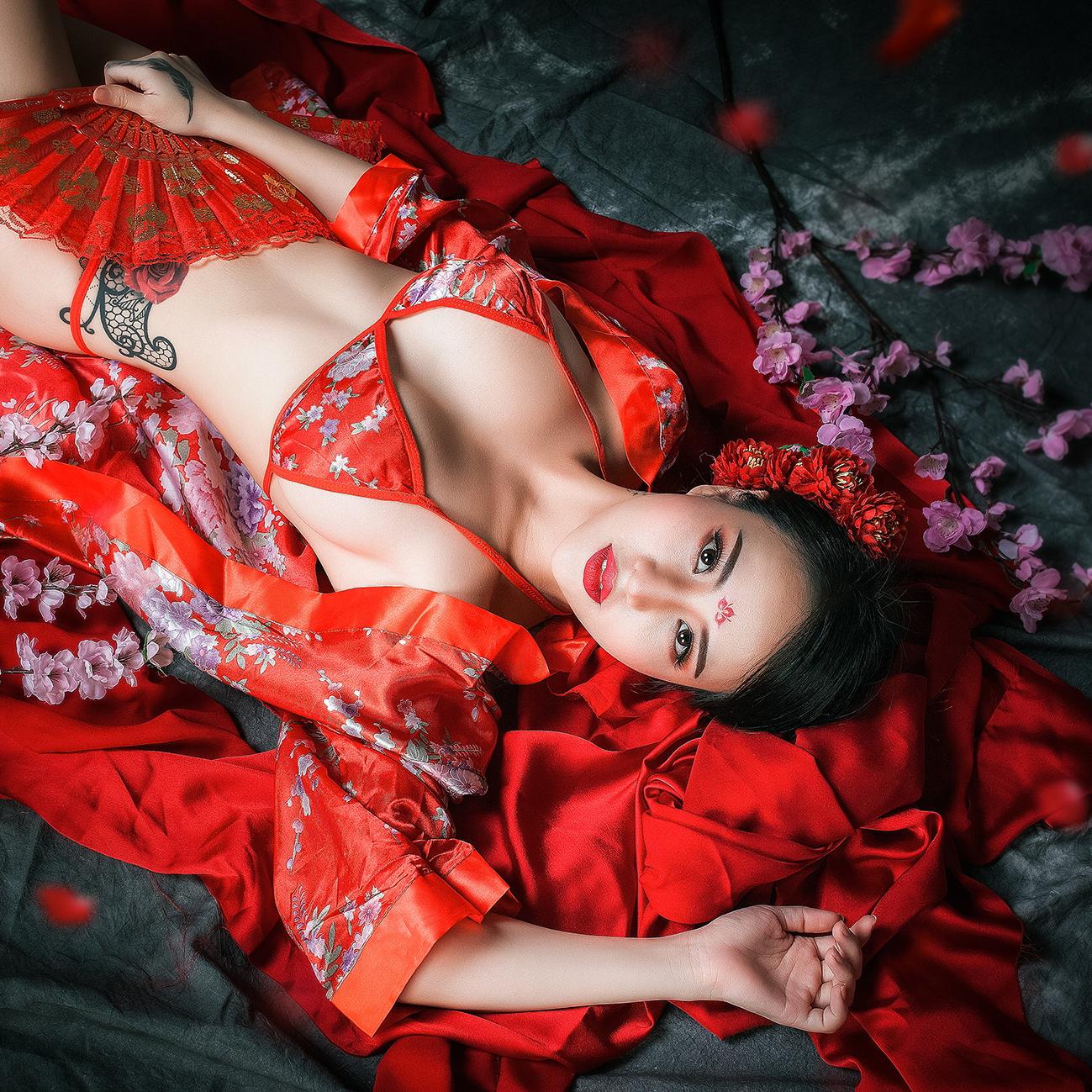 Bộ ảnh Dương Quý Phi của nhiếp ảnh gia Sơn Đầu To