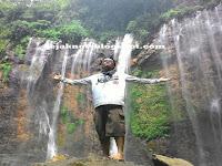 Menikmati kemegahan Coban sewu Malang-Lumajang