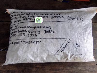 Benih pesanan ALI MUFID Jepara, Jateng.   (Sesudah Packing)