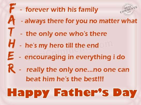 Happy Fathers Day quotation 2017