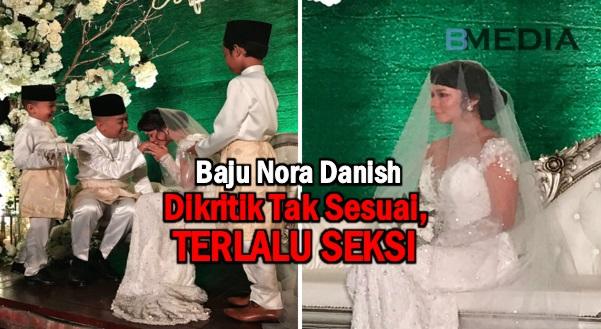 Baju Nora Danish Dikritik Tak Sesuai, Terlalu Seksi