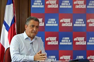 O governador Rui Costa defende fusão PT, PSB e PCdoB  para 2022