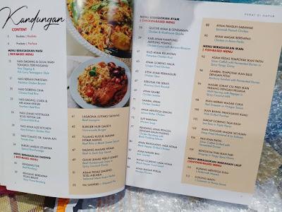 Buku Resepi Hebat Di dapur Hasil Tangan Azie Kitchen