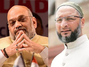 India is bigger than Hindus and Hindutva; Owaisi's reply to Amit Shah