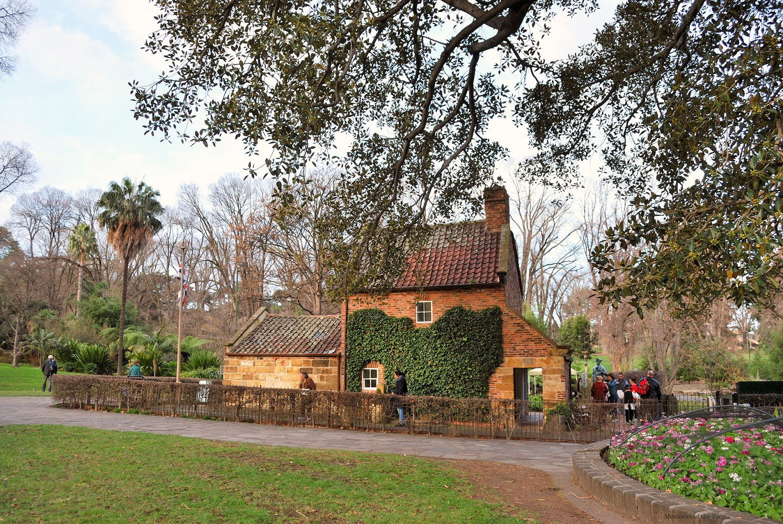 cooks cottage fitzroy gardens melbourne
