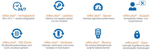 reflex plus® ERP-Software: Die Vorteile für eine SaaS- oder PaaS-Lösung.