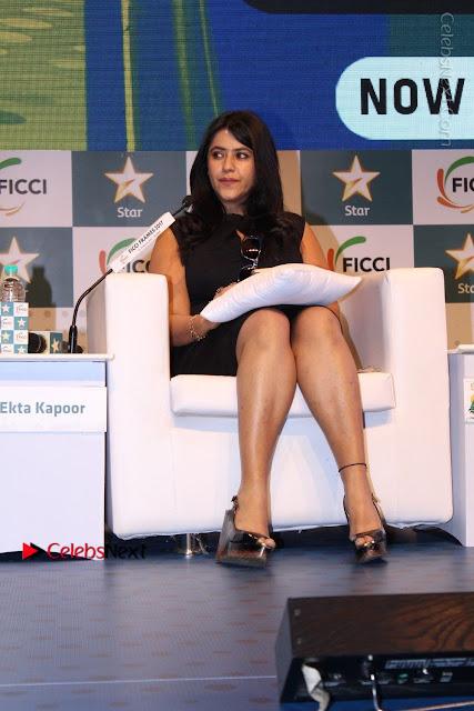 Ekta Kapoor Anurag Kashyap & Ramesh SippyAt at FICCI FRAMES 2017  0023.JPG