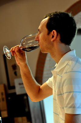 Stephen Tastes the 2006 Solare from Capannelle in Gaiole in Chianti, Italy - Photo by Taste As You Go