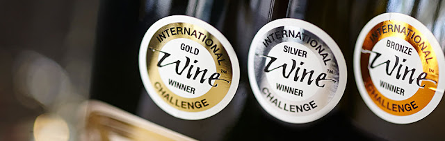 Medallas del concurso international wine challenge