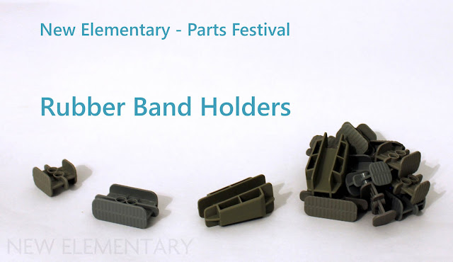 New Elementary Parts Festival - Rubber band holders