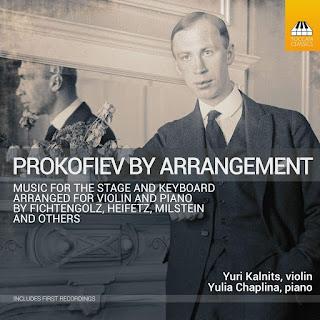 Prokofiev by Arrangement; Yuri Kalnits, Yulia Chaplina; Toccata Classics