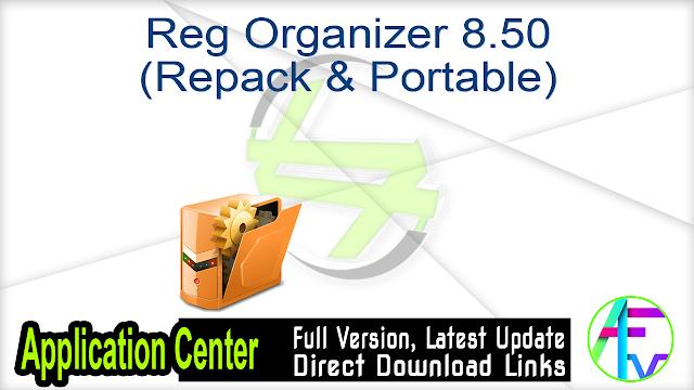 Reg Organizer 8.50 (Repack & Portable)