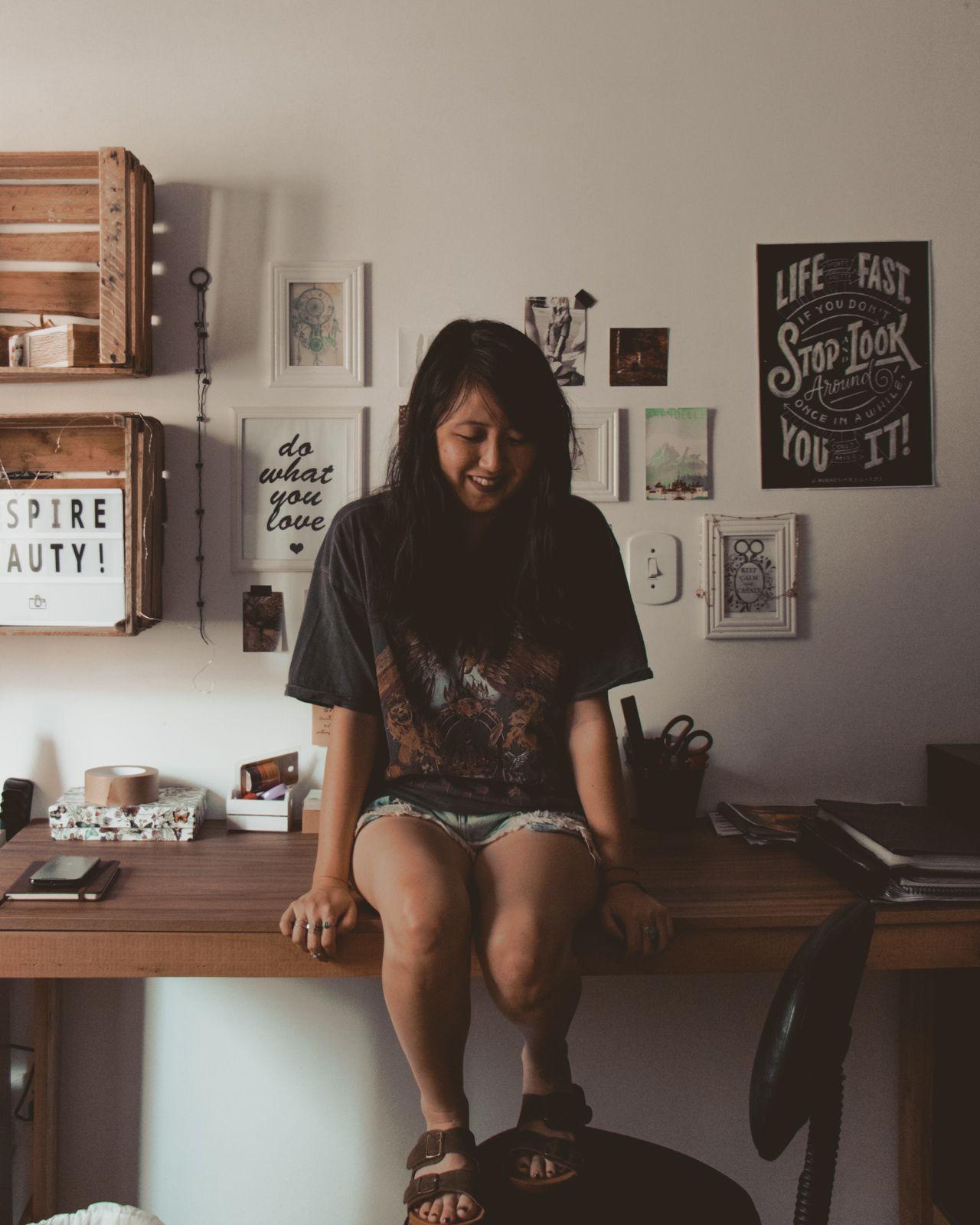 atualizações do bujo + the rocker escrivaninha