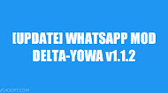 [UPDATE] Download WhatsApp Mod DELTA-YOWA v1.1.2