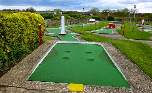 The Arnold Palmer Putting course in Skegness, Lincolnshire