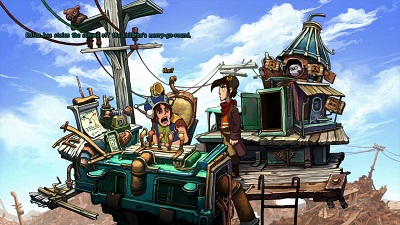 Deponia Review | Story | Gameplay