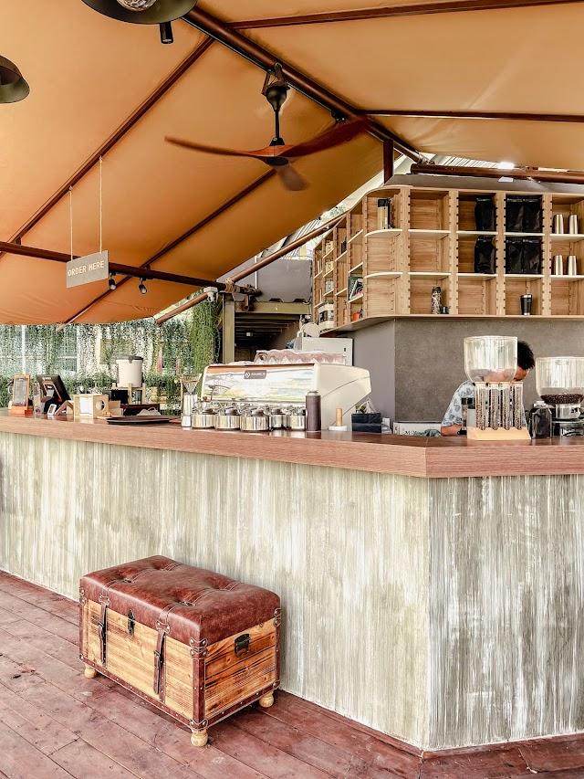 Cà phê Camping giữa lòng Sài Gòn