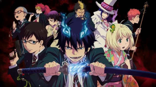 Ao no Exorcist - Anime Tokoh Utama Menggunakan Pedang