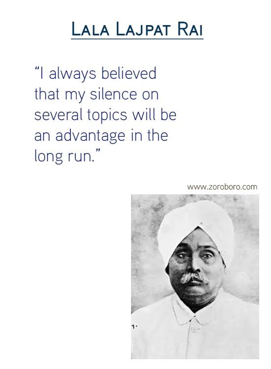 Lala Lajpat Rai Quotes, Lala Lajpat Rai Slogans, Lala Lajpat Rai Speech, Biography, Hindi Quotes and English / Freedom fighter, independencequotes, india, hindustan, inspirational ,motivational,positive,hindi