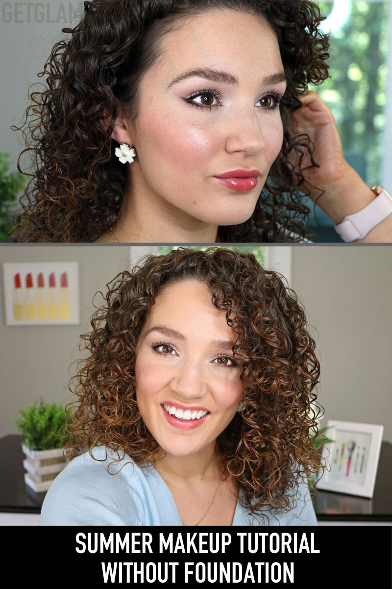 Drugstore Summer Makeup without Foundation
