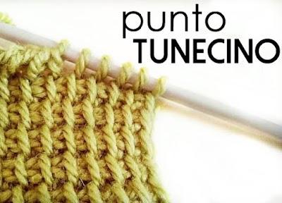 Tutoriales Punto Tunecino crochet