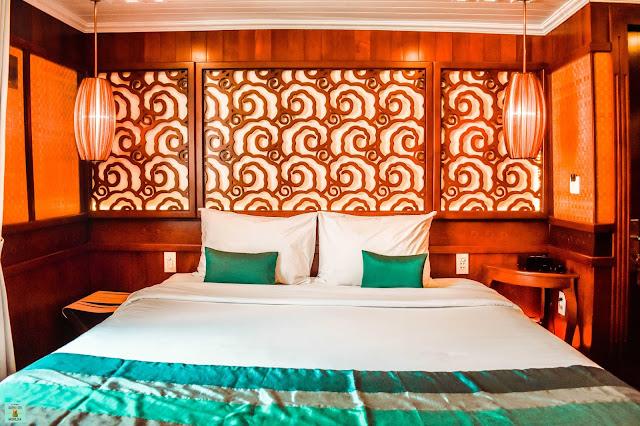 Habitación en el crucero Bhaya Classic Cruises