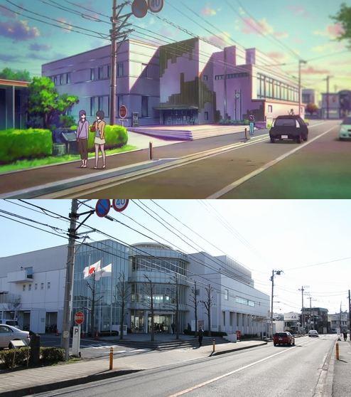 47 gambar Anime pemandangan stasiun