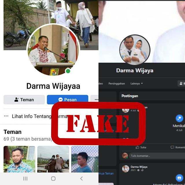 Kadiskominfo Kabupaten Sergai Minta Masyarakat Berhati-Hati, Beredar  Akun Palsu Bupati Sergai di Media Sosial