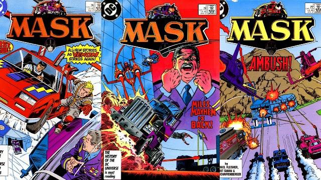 MASKast Assignment: US Comics Series 2 Issues 1-3