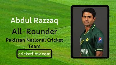 Abdul Razzaq Net Worth, Age, Height, Career, Stats & More | Cricket Flow