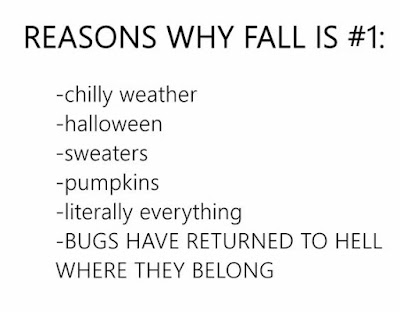 bugs have returned to hell, fall funny