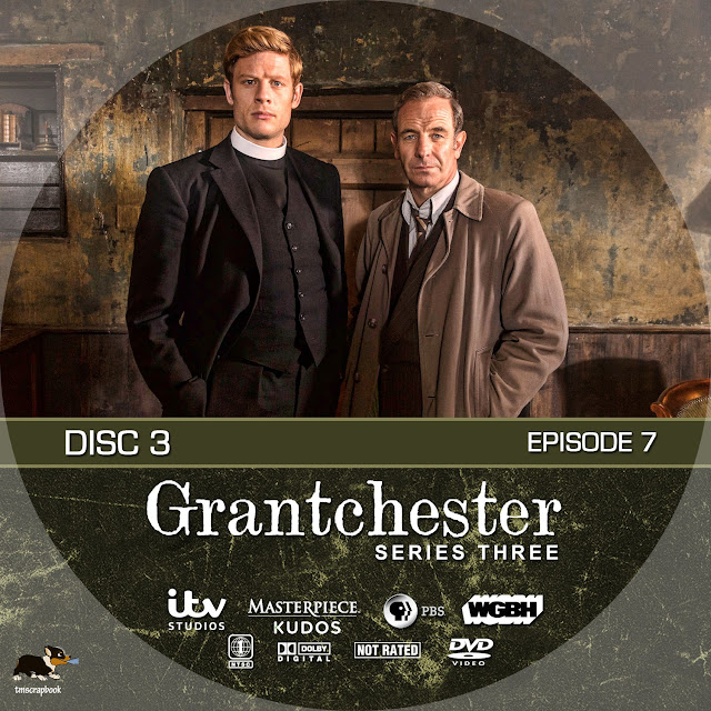 Grantchester Season 3 Disc 3 DVD Label