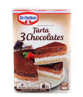 Dr Oetker tarta 3 chocolates