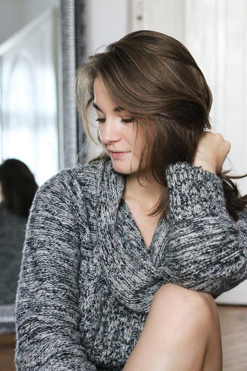 klimatyczna sesja jesienna, sweter