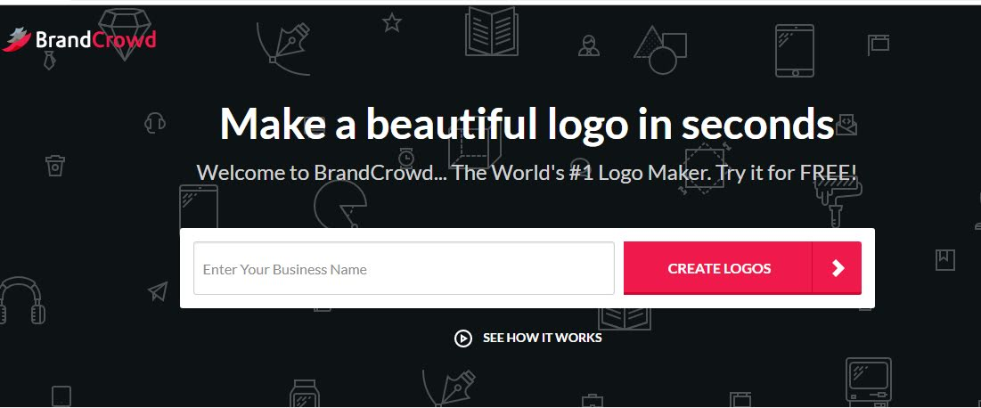 BrandCrowd: Make a beautiful logo in seconds