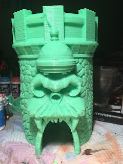 Castle Grayskull Dice Tower