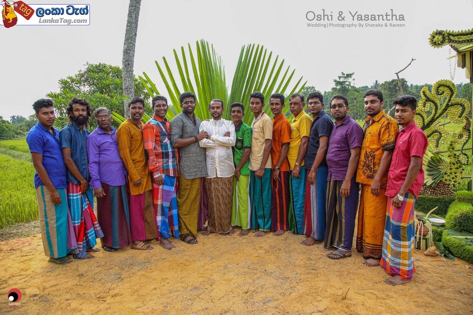 sri lankan wedding dress  4