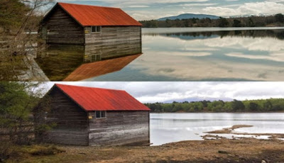 Air Danau Loch Skotlandia Menghilang Secara Misterius