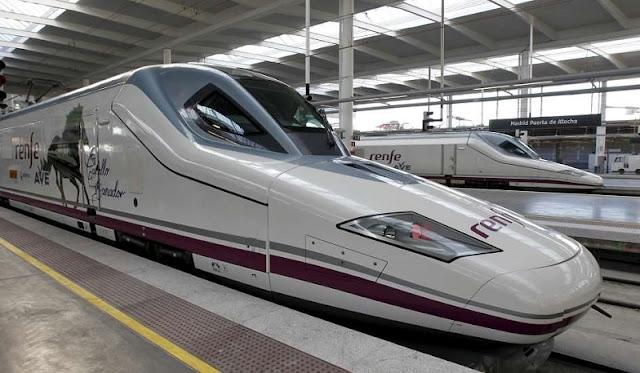 Viagem de trem de Madri a Paris