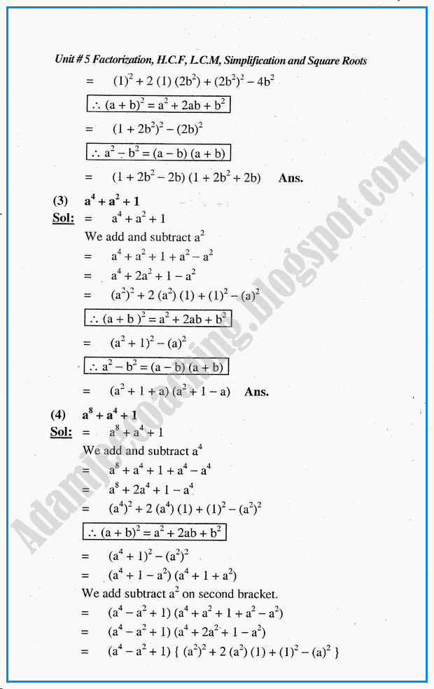 Top 12 Adamjee Notes For Class 10 Maths Ex 5 3 - Gorgeous Tiny