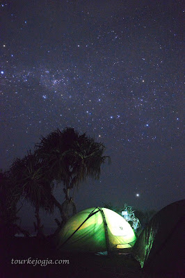 Milkyway di Watu Bolong