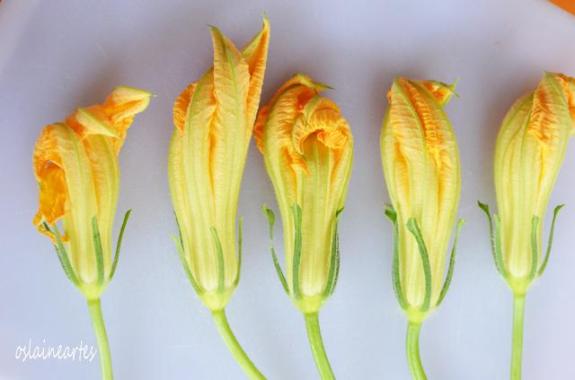 Flor de Abóbora Recheada