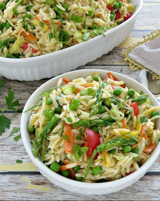 Summer Pasta Salad with Lemon Vinaigrette