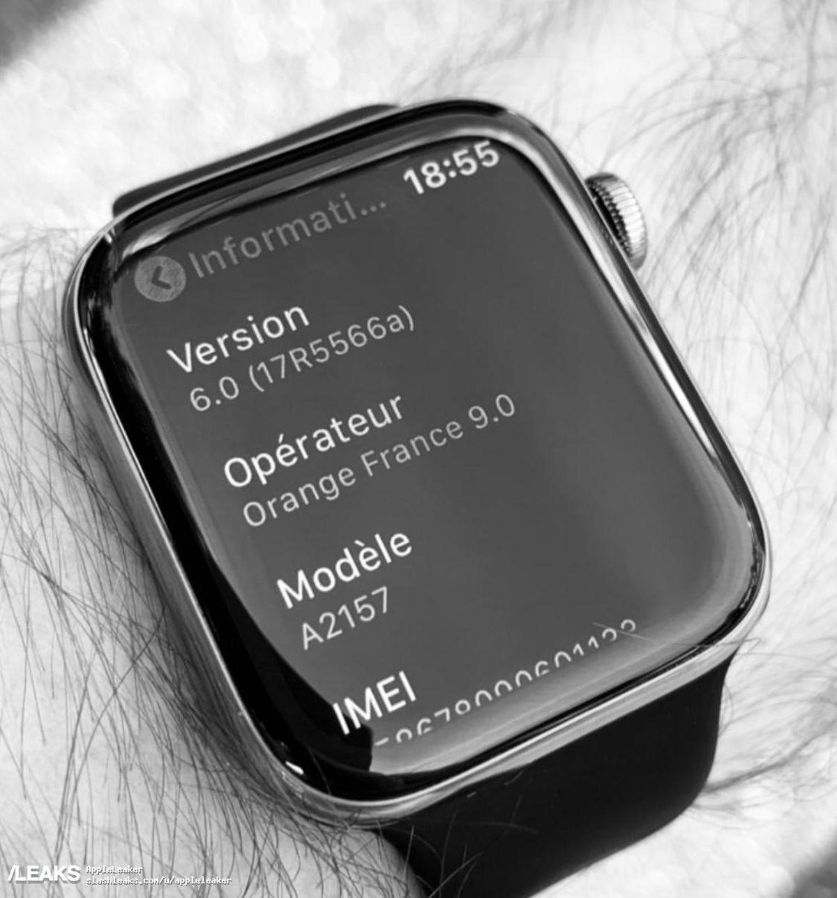 هل يمكن أن تكون هذه هي الساعة الذكية Apple Watch Series 5 القادمة من آبل؟