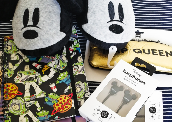 typo stationery and disney haul