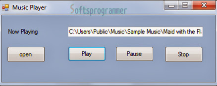 Music Player in C#
